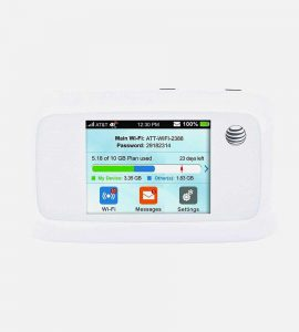Velocity LTE Mobile Wifi Hotspot Front Image