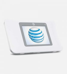 White Tilted View NetGear Hotspot 770S