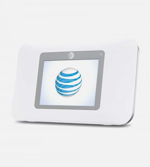 White Tilted View NetGear Hotspot 770S 2
