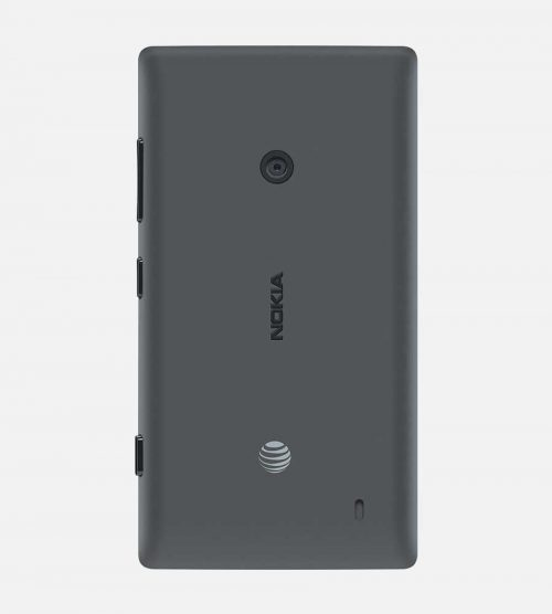 Back of Nokia lumia 520