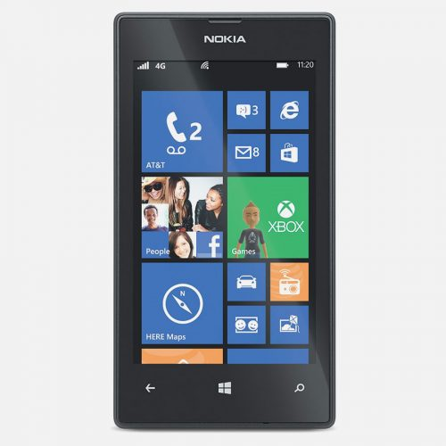 Front View Nokia 520