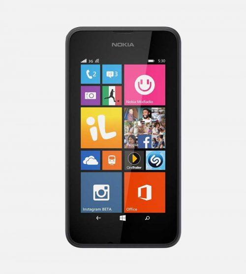 Nokia Lumia 530 Gray Front