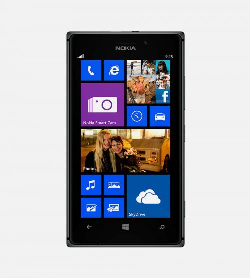 Front of Nokia lumia 925