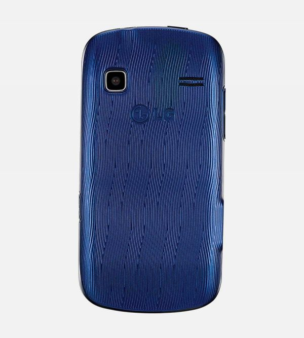 LG Xpression Blue Back View