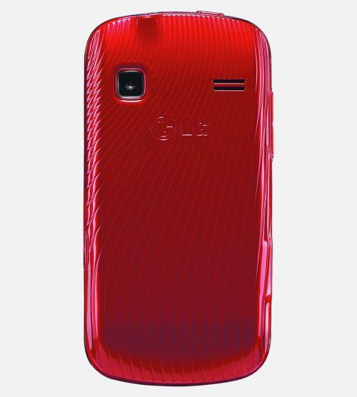 LG Xpression Red Back