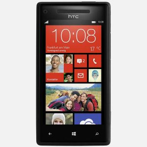HTC 8x Windows Black Front