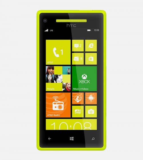 HTC 8x Windows Yellow Front