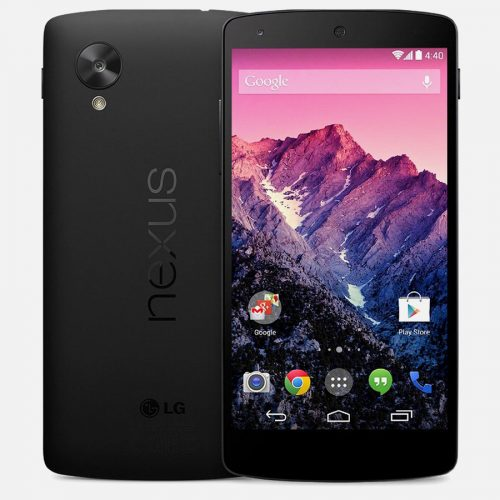 LG Nexus 5 Black Front Back 2