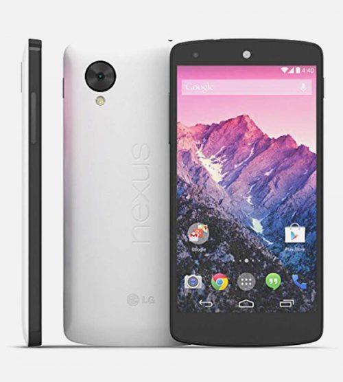 LG Nexus 5 White Front Back Side
