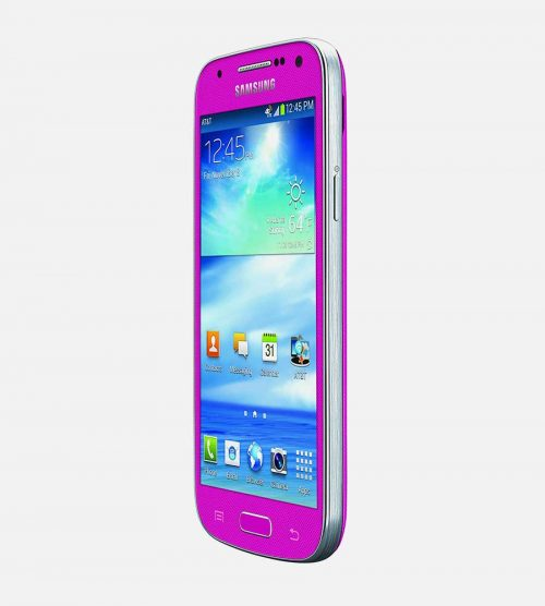 Samsung S4 Mini Pink Tilted