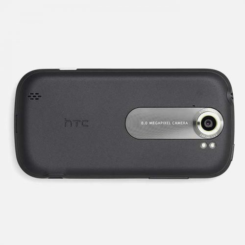 Back of HTC myTouch 4G Black