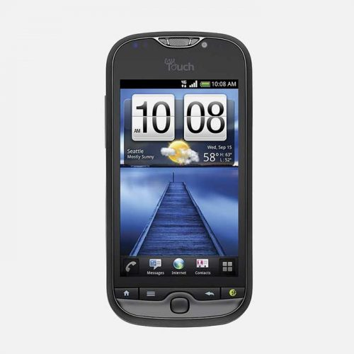 Front View HTC myTouch 4G