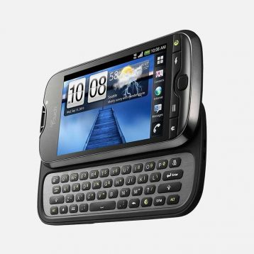 Open Keyboard from HTC myTouch 4G