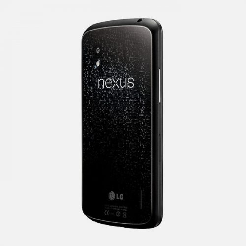 LG Nexus 4 Black Back Tilted