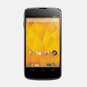 LG Nexus 4 Black Front