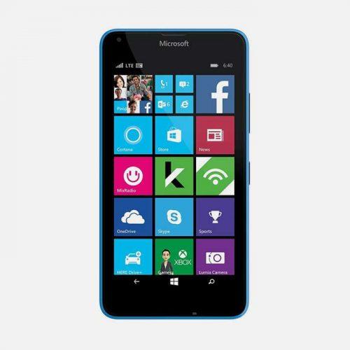 Nokia Lumia 640 RM-1073 Blue Front