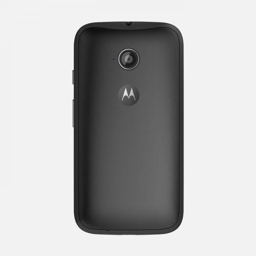 Motorola Moto E Black Back