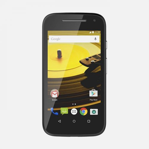 Motorola Moto E Front View