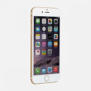 iPhone 6 Gold - Front Tilted View