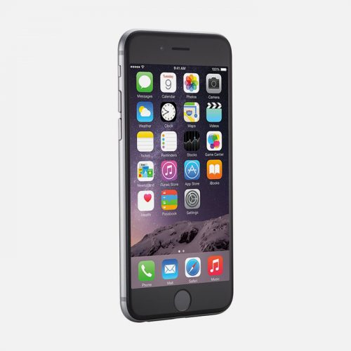 iPhone 6 Space Gray - Front Tilted View