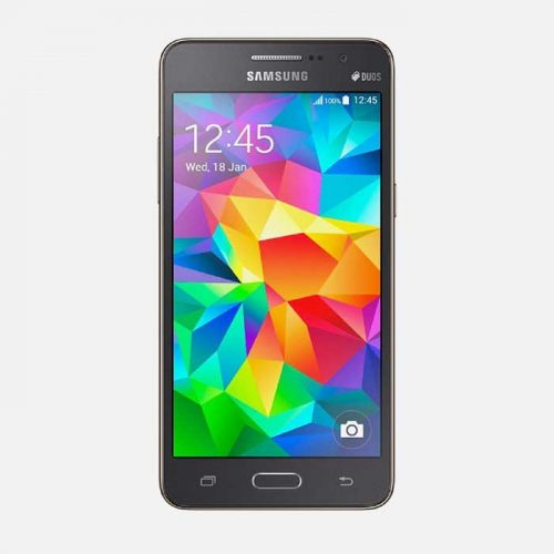 Black Samsung Galaxy Grand Prime Front View