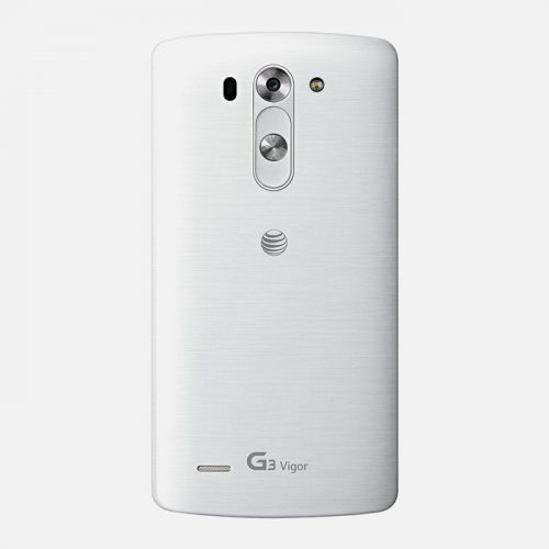 LG G3 Vigor White Back