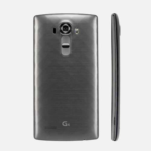 Gray LG G4 Side View and Back