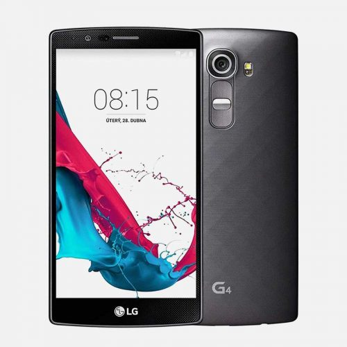 LG G4 Gray Front and Back