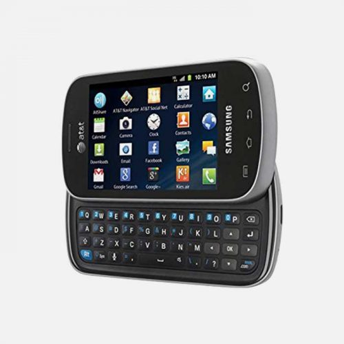 Samsung Galaxy Appeal with Open Keyboard