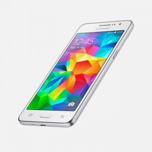 White Samsung Galaxy Grand Prime