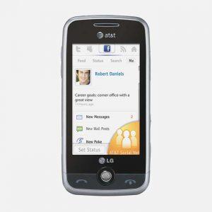 LG Prime GS390 Front