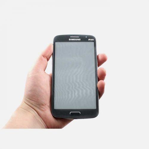 Samsung Galaxy Grand 2 - Dual Sim - Held in Left Hand