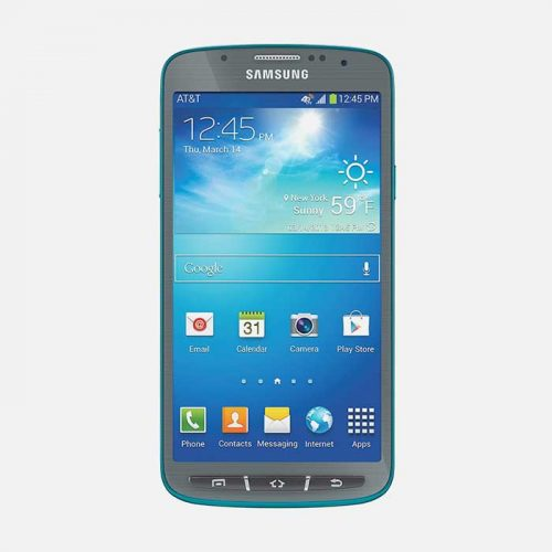 Samsung Galaxy S4 Active Blue Front