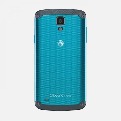 Samsung Galaxy S4 Active Blue Back