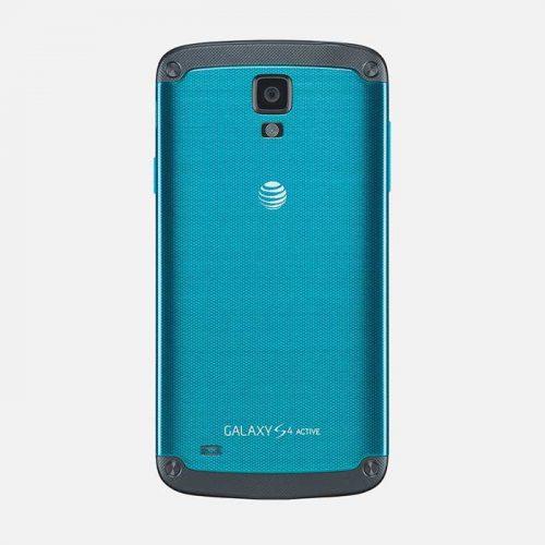 Samsung Galaxy S4 Active Blue Back