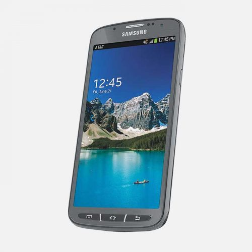 Samsung Galaxy S4 Active Gray Front Tilted
