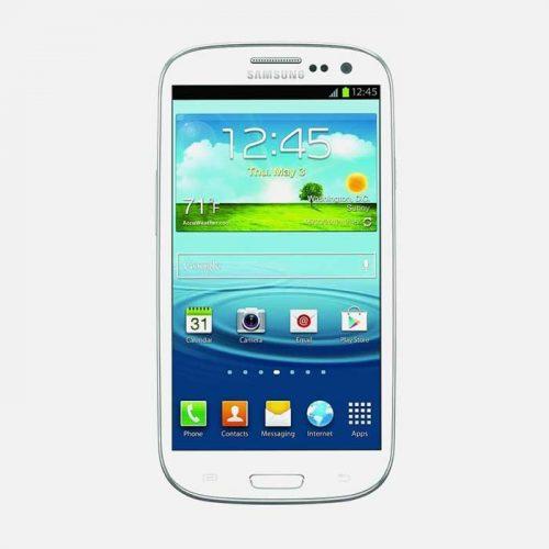 Samsung S3 White Front