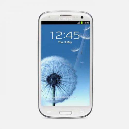 Samsung S3 White Front 2