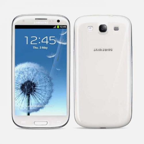 Samsung S3 White Front and Back