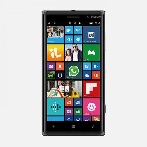 Nokia 830 Black Front