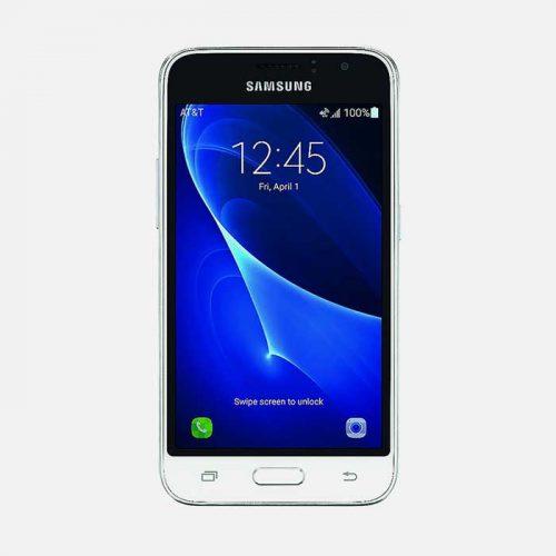 Samsung Galaxy J1 White Front 1