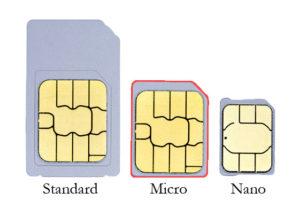 Micro Sim Card Size