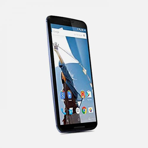 Motorola Nexus 6 Titled to the right