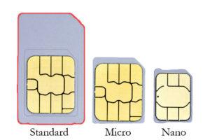 Standard Sim Card Size
