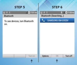 Kyocera DuraXE Bluetooth 5-6