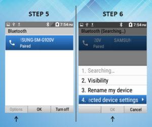 Kyocera DuraXE Bluetooth Removal 5-6