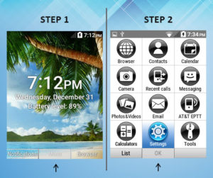 Kyocera DuraXE Phone Time Out 1-2