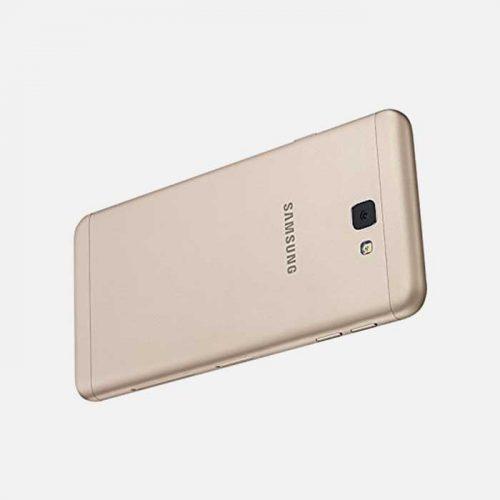 Samsung J7 White/Gold Back Tilted