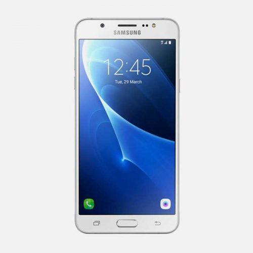 Samsung J7 White Front