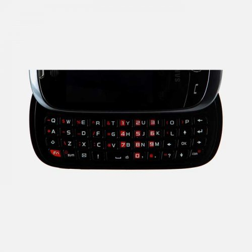 Samsung flight 2 Keyboard only slid out